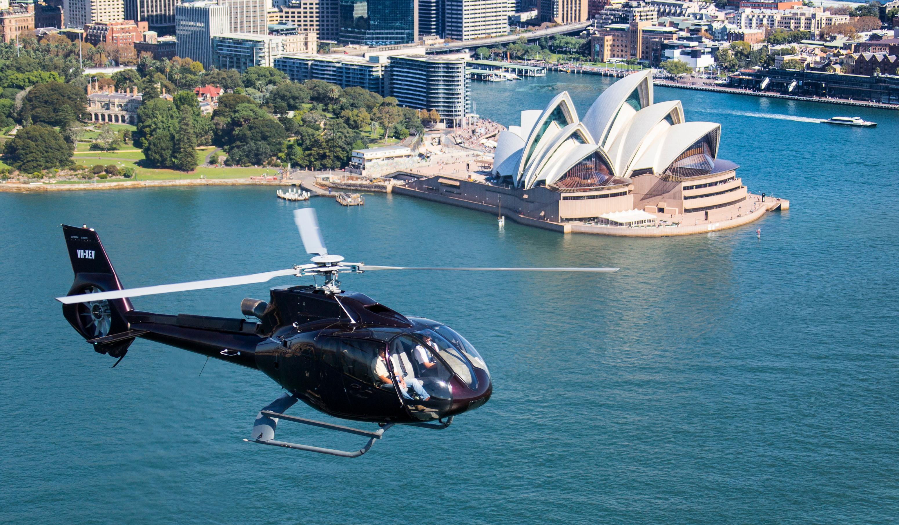 Sydney Harbour Heli Flight