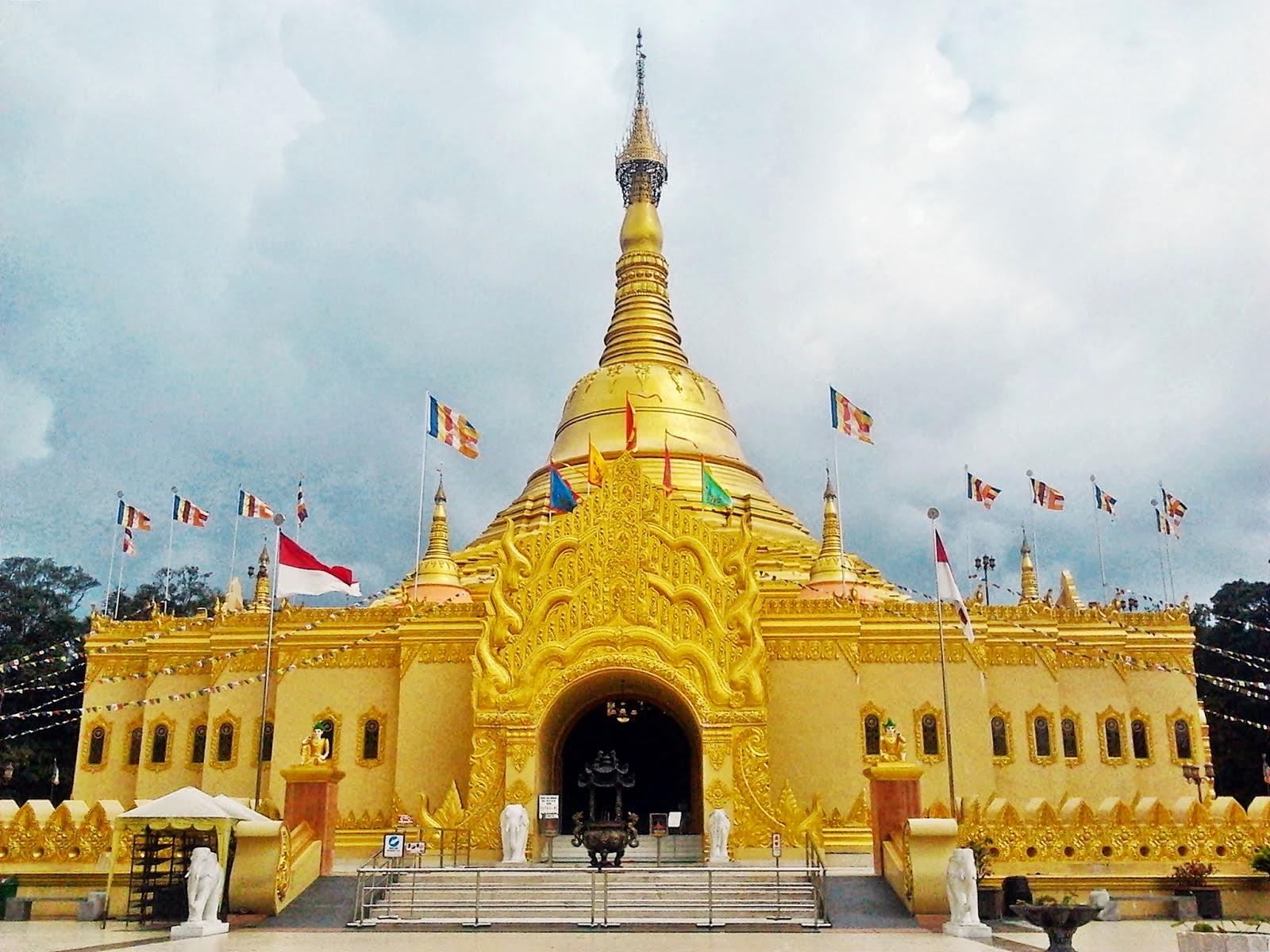 Medan-Shewedagon Lumbini