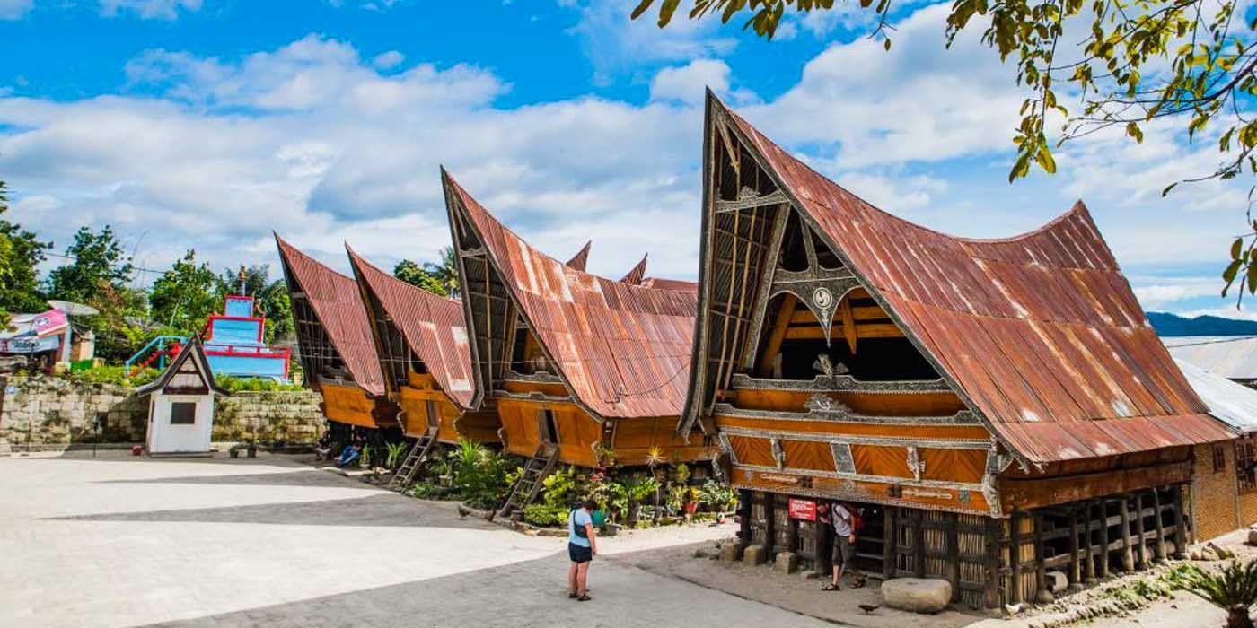 Medan-Tomok Village