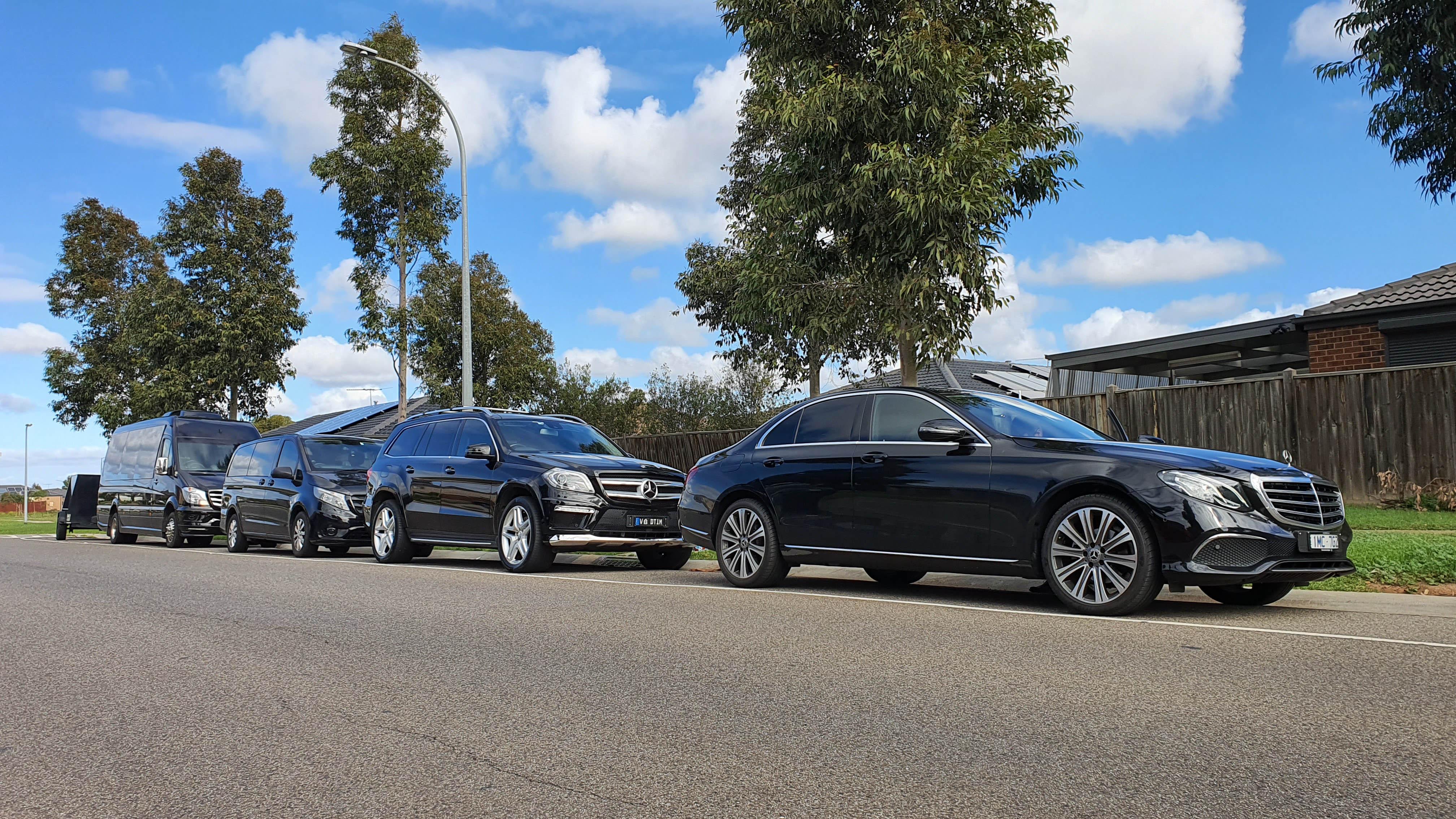 Black VIP Mercedes Fleet
